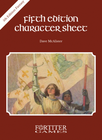 Fifth Edition Character Sheet