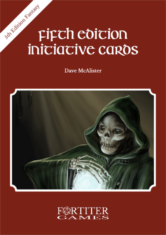Fifth Edition Initiative Cards